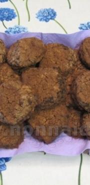 Biscottini di farina di riso con cioccolato e caffè