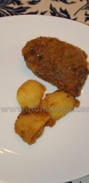 Guancette di vitello e patate