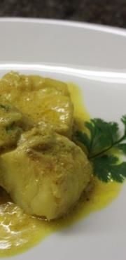 Curry di pesce