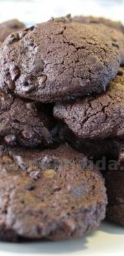 Biscotti di quinoa al doppio cioccolato - senza glutine