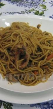 Spaghetti tailandesi