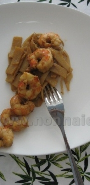 Gamberi in wok