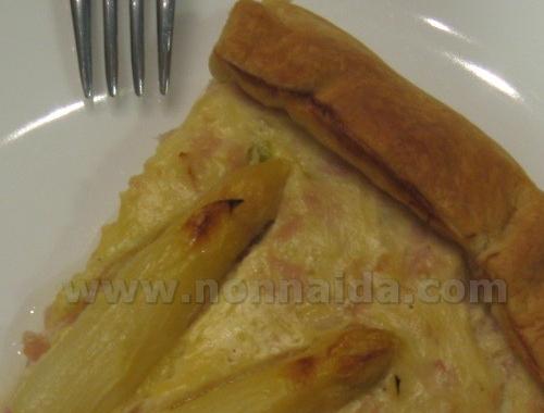 Torta salata light agli asparagi