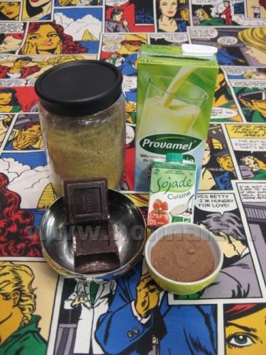 Le ricette di nonna ida gelato di soia al cioccolato - Bagno di cioccolato ...